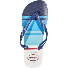 havaianas Top Nautical Miehet sandaalit , punainen/sininen